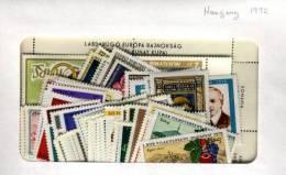 Hongrie 1972  Neuf Sans Charnieres Complet - Hongarije