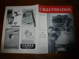 L' Illustration 1er-8 Janvier 1944 : Les Laboratoires De La Police - Zeitungen