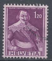 Switzerland 1958. Scott #276a (U) Jürg Jenatsch * - Oblitérés