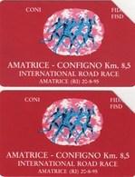 *ITALIA: AMATRICE - CONFIGNO* - Serie Completa Usata - Italy