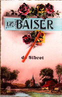 Un Baiser De SIBRET - Carte Colorée - Vaux-sur-Sure