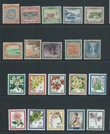 Niue 1950 & 1969 Definitive Sets Of 10 Mint - Niue