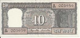 INDE 10 RUPEES VF+ - India