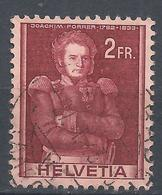 Switzerland 1941. Scott #278 (U) Joachim Forrer * - Suisse