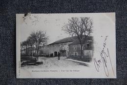 MARTIGNY LES BAINS - Une Vue Du Village.1902 - Autres Communes
