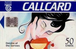 TARJETA TELEFONICA DE IRLANDA, DEIRDRE OF THE SORROWS. 1070 (018) - Irlanda