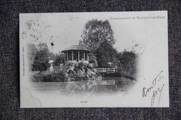 MARTIGNY LES BAINS - Etablissement, Le Lac.1902 - Autres Communes