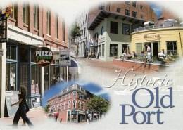 Historic Old Port Multiview, Portland, Maine, USA Unused - Portland