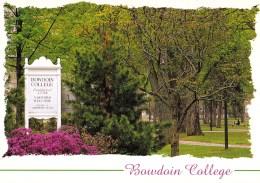 Bowdoin College, Brunswick, Maine, USA Unused - United States