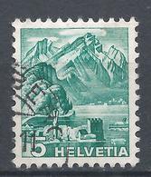 Switzerland 1936. Scott #228 (U) Mt. Pilatus * - Suisse