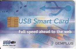 FRANCE - USB Smart Card, Gemplus Demo Card - France