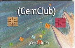 FRANCE - GemClub, Gemplus Demo Card - France
