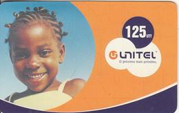 ANGOLA - Penteados Angolanos, Unitel Recharge Card 125 Units, Exp.date 23/12/06, Used - Angola