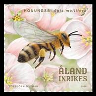 Aland 2018 Mih. 455 Fauna. Beekeeping. Western Honey Bee MNH ** - Aland