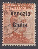 VENEZIA GIULIA, OCCUPAZIONE ITALIANA - 1918 - Unificato 23, Usato. - 8. WW I Occupation