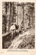 67.68. Pendant La Guerre, Paysage D'Alsace, Construction D'une Tranchée, Soldats. - Oorlog 1914-18