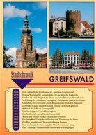 73236090 Greifswald Nikolaikirche Fangenturm Markt Chronik Greifswald - Greifswald