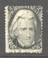 1863  Jackson  2 Cents  Sc 73  Used - Usati