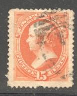 1879  Daniel Webster 15 Cents Sc 189  Used - Ungebraucht