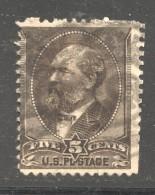 1882  James A. Garfield  5 Cents  Sc 205  Used - Ungebraucht