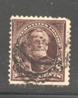 1890  William T. Sherman  8 Cents  Sc 225  Used - Ungebraucht