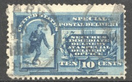 Post Office Runner  Special Delivery Sc E1 Used - Special Delivery, Registration & Certified
