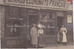 HAUTE MARNE LANGRES GRANDS ECONOMATS FRANCAIS RUE DIDEROT CARTE PHOTO - Langres