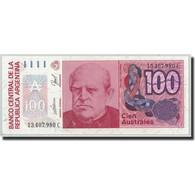 Billet, Argentine, 100 Australes, Undated (1985-90), KM:327c, NEUF - Argentine