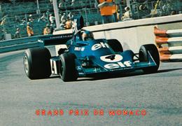 MONACO,MONTE CARLO,course Automobile,FORMULE 1,pilote  Haut Risque,grand Prix Dans La Ville,constructeur ELF,TIRREL FORD - Monaco