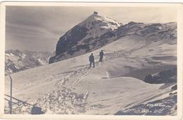 Frontière Austro-suisse,SULZFLUH,carte Photo Montagne Dans Ratikon,rhat,grisons,vorarlberg,randonneur,carte Photo - Suisse