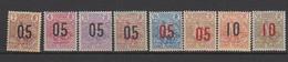 GUINEE            N°  YVERT  :   55/62  NEUF AVEC  CHARNIERES      ( Ch08 ) - Guinée Française (1892-1944)