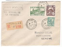 2894 - Vol Spécial SWISSAIR - Airmail