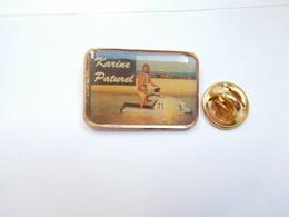 Beau Pin's , Karine Paturel , Pilote Française De Motomarine ; Jet Ski - Water-skiing