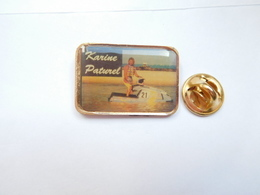 Beau Pin's , Karine Paturel , Pilote Française De Motomarine ; Jet Ski - Ski Nautique