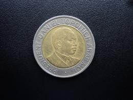 KENYA : 20 SHILLINGS  1998   KM 32    Extérieur (Cu Ni) SUP , Intérieur (Br Al) TTB - Kenya
