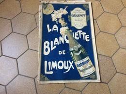 LIMOUX  Partition De Musique Offert Par La  Maison GUINOT.   Document RARE - Limoux