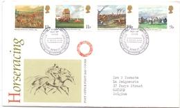 Omslag Enveloppe - Stempel Cachet  - FDC - Horseracing - Edinburgh 1979 - 1971-1980 Em. Décimales
