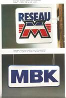 Doc   Pub Sur Les Enseignes Motobecane  Mbk - Autres