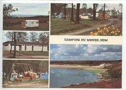 Plomodiern : Camping De Menez Hom Entrée De La Presqu'ile De Crozon (cp Vierge Multivues) - Plomodiern