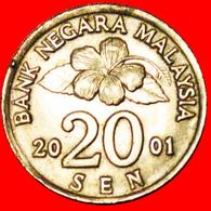 √ WIDE PETALS: MALAYSIA ★ 20 SEN 2001! LOW START ★ NO RESERVE! - Malaysia
