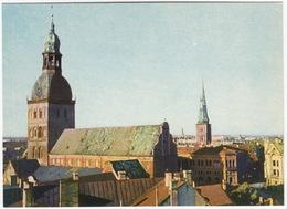 Riga - Roofs Of Old Riga - (Latvijas PSR / Latvia / Letland) - Letland