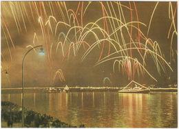 Riga - Holiday Salute - (FIREWORKS)  - (Latvijas PSR / Latvia / Letland) - Letland