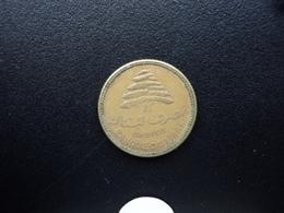 LIBAN : 5 PIASTRES  1969   KM 25.1    TTB - Lebanon