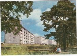 Riga - New Residential Houses In Jugla -  (PRAM/SCHAUKELWAGEN)  - (Latvijas PSR / Latvia / Letland) - Letland
