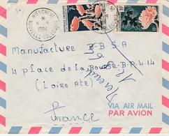 Hienghene 1964 - Lettre Brief Cover - Nouvelle-Calédonie