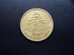 LIBAN : 25 PIASTRES  1969   KM 27.1    TTB - Lebanon
