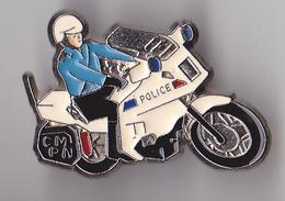 PIN'S   THEME POLICE  MOTARD  CM PN - Police