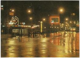 Riga - Lenin Street At Night - (NEON'S) - (Latvijas PSR / Latvia / Letland) - Letland