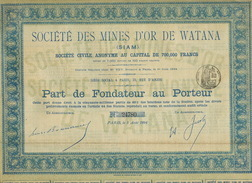 Siam Watana Gold Mine Bond Size 32 Cms By 22 Cms - Thailand