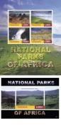 Tanzania 2015 National Parks Africa Mountains Waterfall Victoria Falls MNH ** - Tanzanie (1964-...)